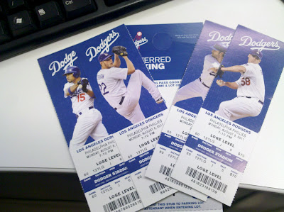 Los Angeles Dodgers Tickets.