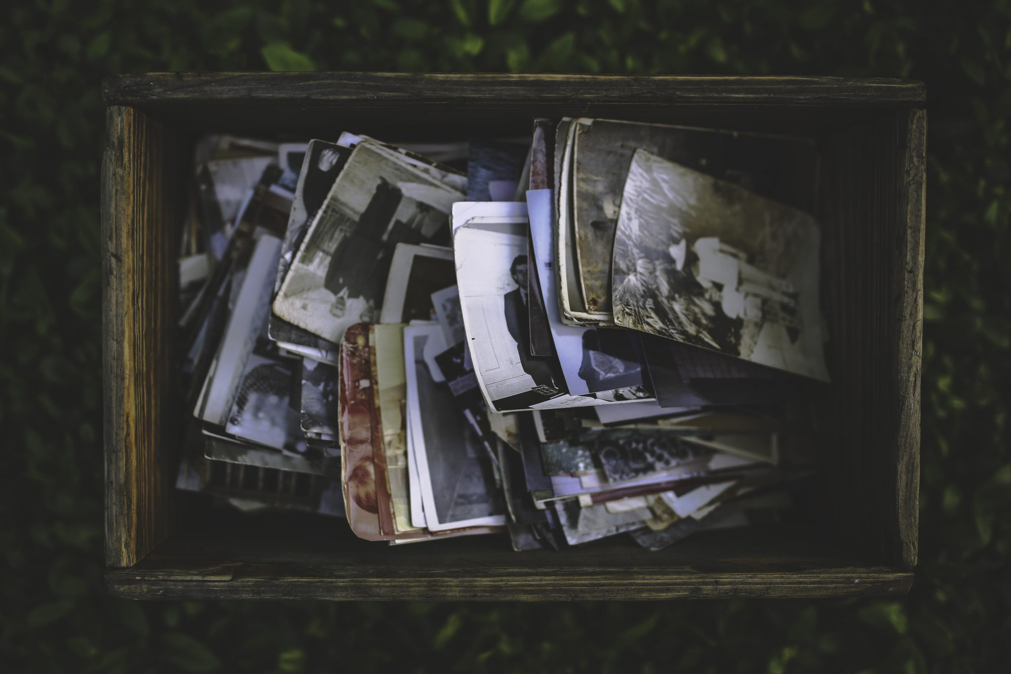 Vintage photos and the history of print.