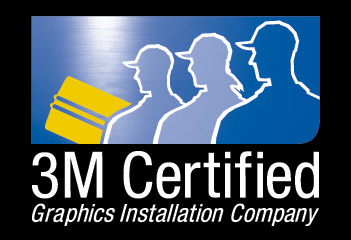 Being a 3M Certified Graphics Installation Company demonstrates our commitment to providing you with the best graphics installation available.